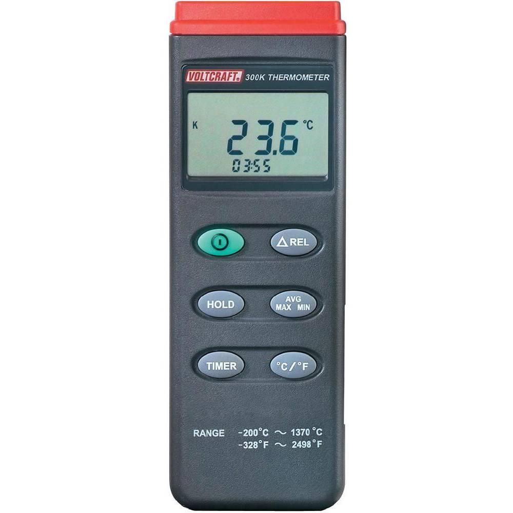 VOLTCRAFT K204 teploměr -200 do +1370 °C typ senzoru K funkce dataloggeru