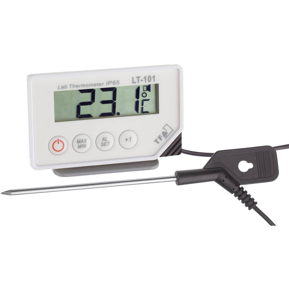 vpichovací teploměr TFA Dostmann LT-101, Teplotní rozsah -40 do +200 °C, typ senzoru NTC