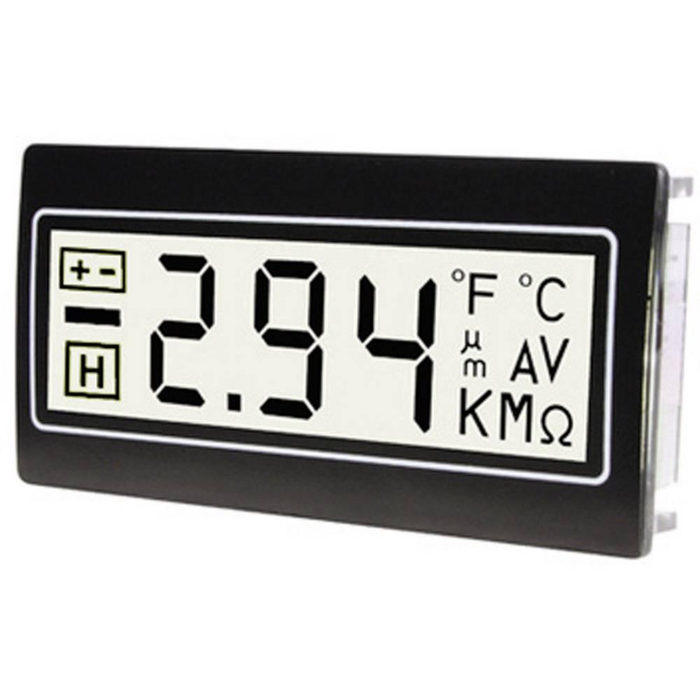 TDE Instruments DPM961-TW digitální panelový měřič Digitální multimetr pro zástavbu do panelu ± 200 mV