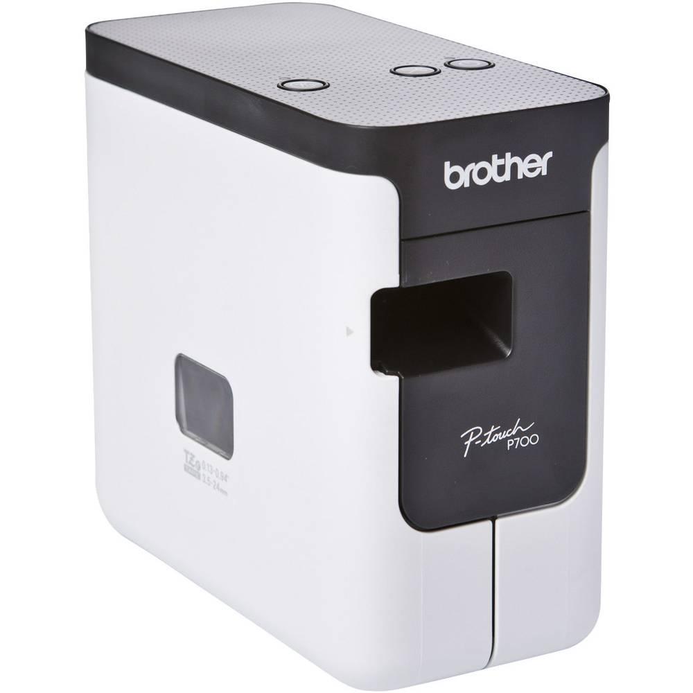 Brother P-touch P700 štítkovač vhodné pro pásky: TZ, Hse 3.5 mm, 6 mm, 9 mm, 12 mm, 18 mm, 24 mm