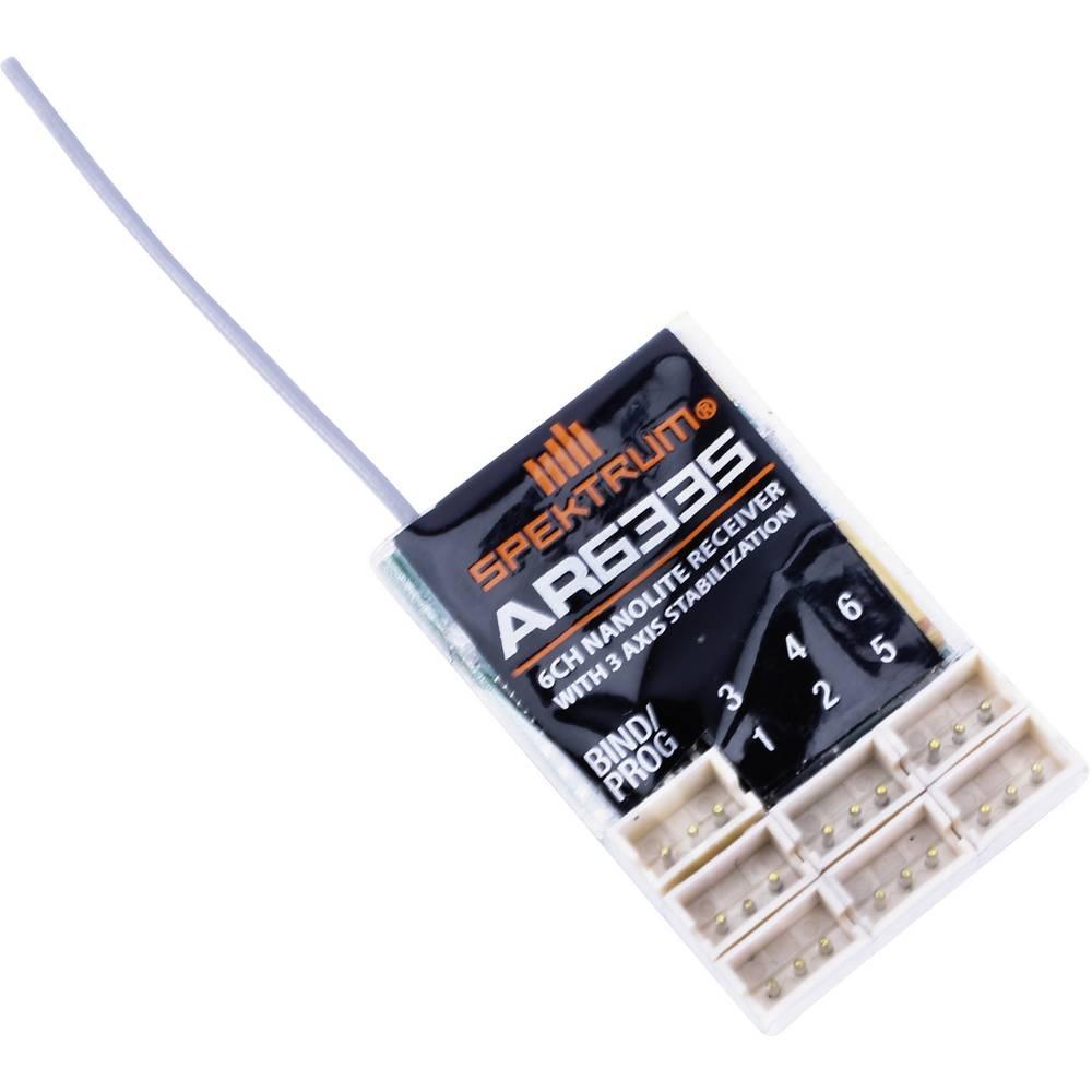 Spektrum AR6335 6-ti kanálový přijímač 2,4 GHz Zásuvný systém JST-ZHR
