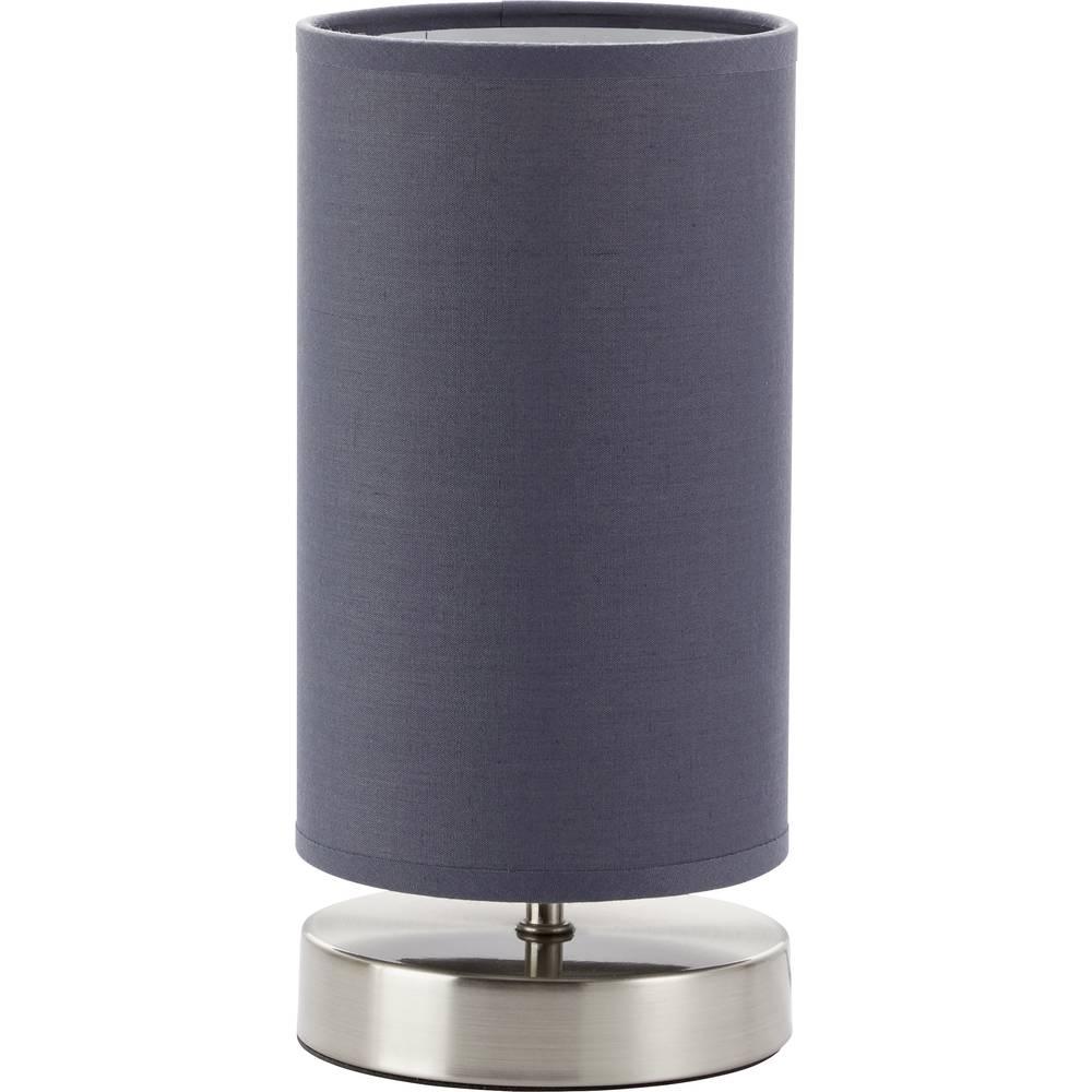 Brilliant Lampička na noční stolek Claire 13247/22 N/A šedá E14