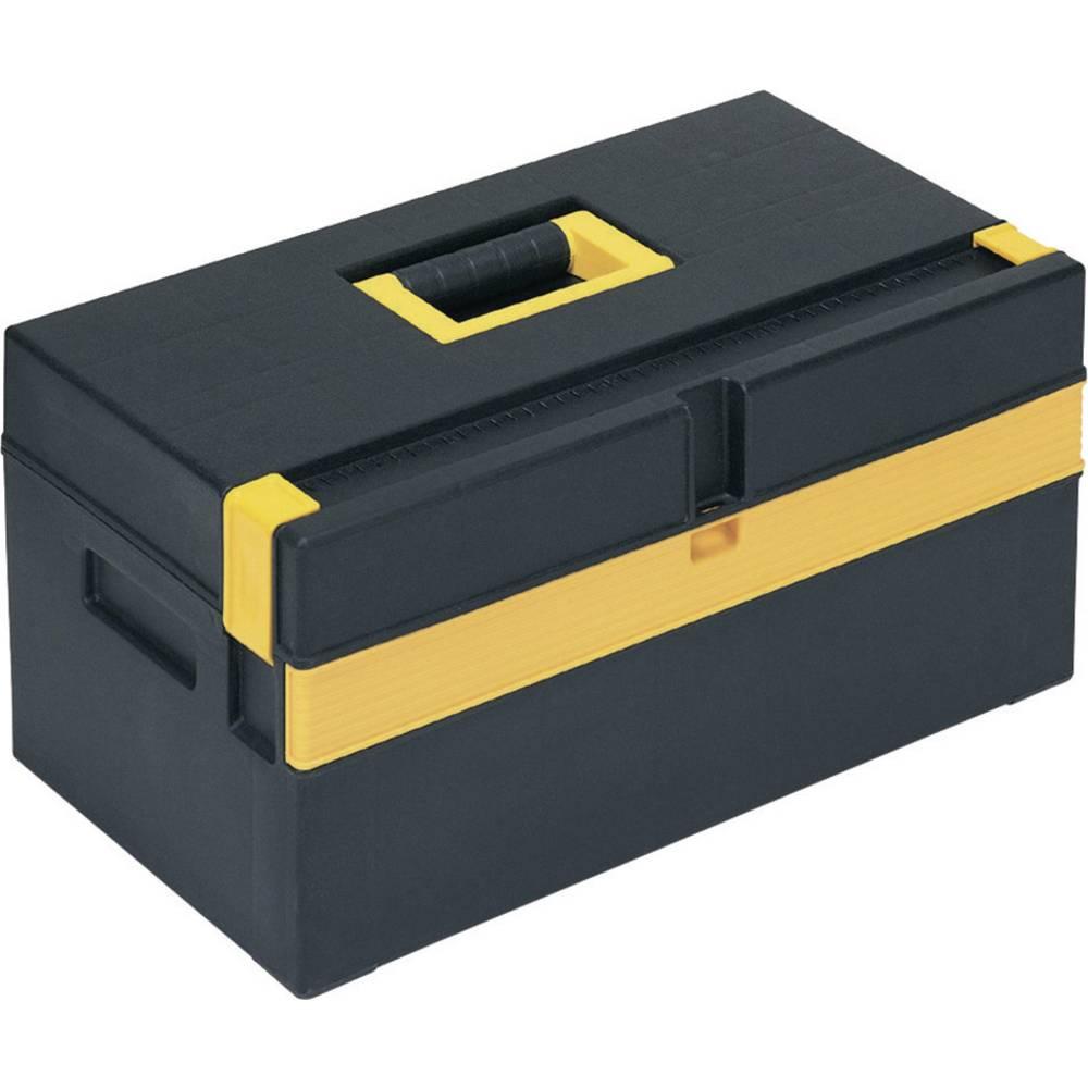 Alutec 56560 box na nářadí plast černá, žlutá