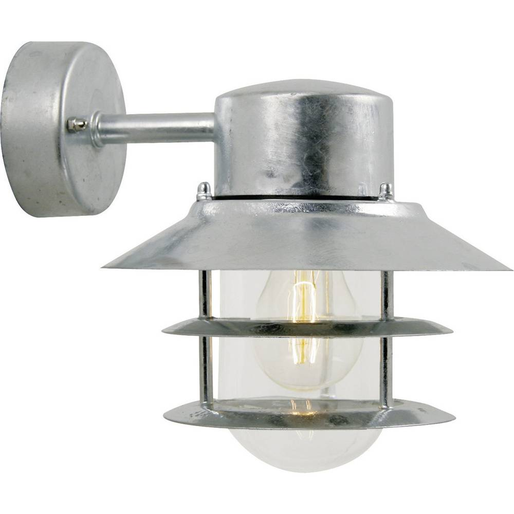 Nordlux Blokhus 25051031 venkovní nástěnné osvětlení úsporná žárovka, LED E27 60 W ocelová
