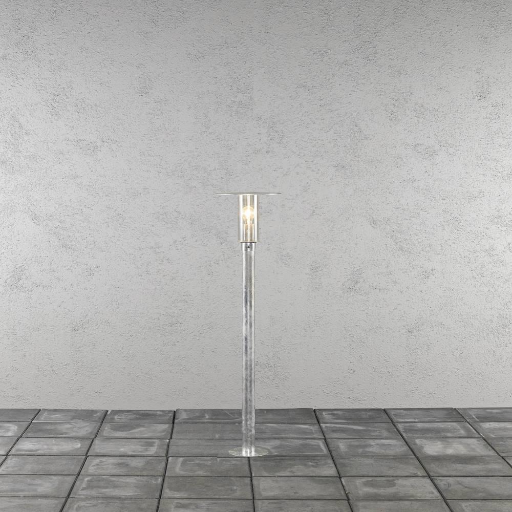 Konstsmide 662-320 Mode venkovní stojací osvětlení žárovka, úsporná žárovka E27 60 W ocelová