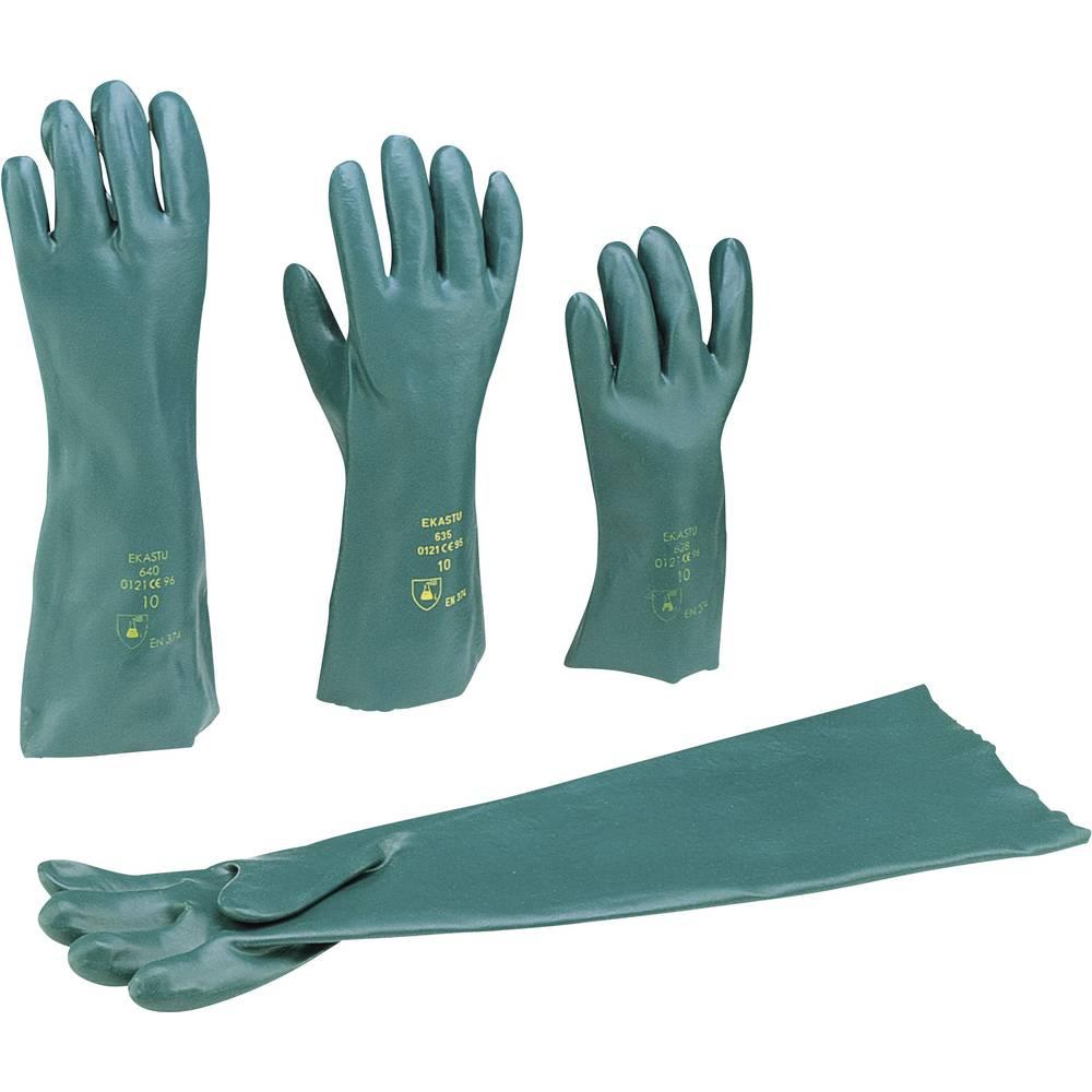 EKASTU Sekur 381 635 polyvinylchlorid rukavice pro manipulaci s chemikáliemi Velikost rukavic: 10, XL EN 374 , EN 388 , EN 420 CAT III 1 ks