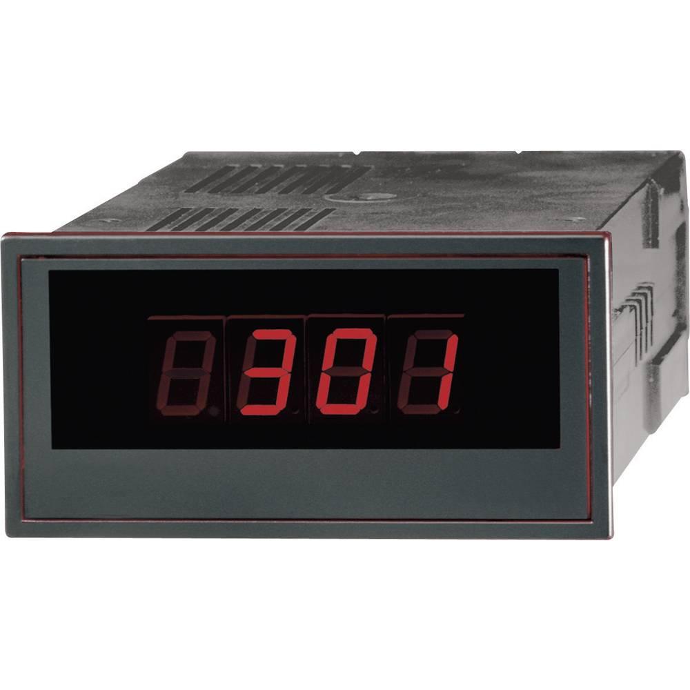 GMW DPM 48/96-2000 S14 230 V AC digitální panelový měřič Digitální panelový měřič DPM 48/2000 SNT 13,230 V 0,2 - 300 V/DC/1 - 200 mA/DC