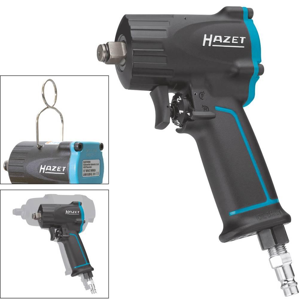 """Hazet 9012M pneumatický rázový šroubovák Typ uchycení nástroje: vnější čtyřhran 1/2"""" (12,5 mm) Točivý moment (max.): 678 Nm"""