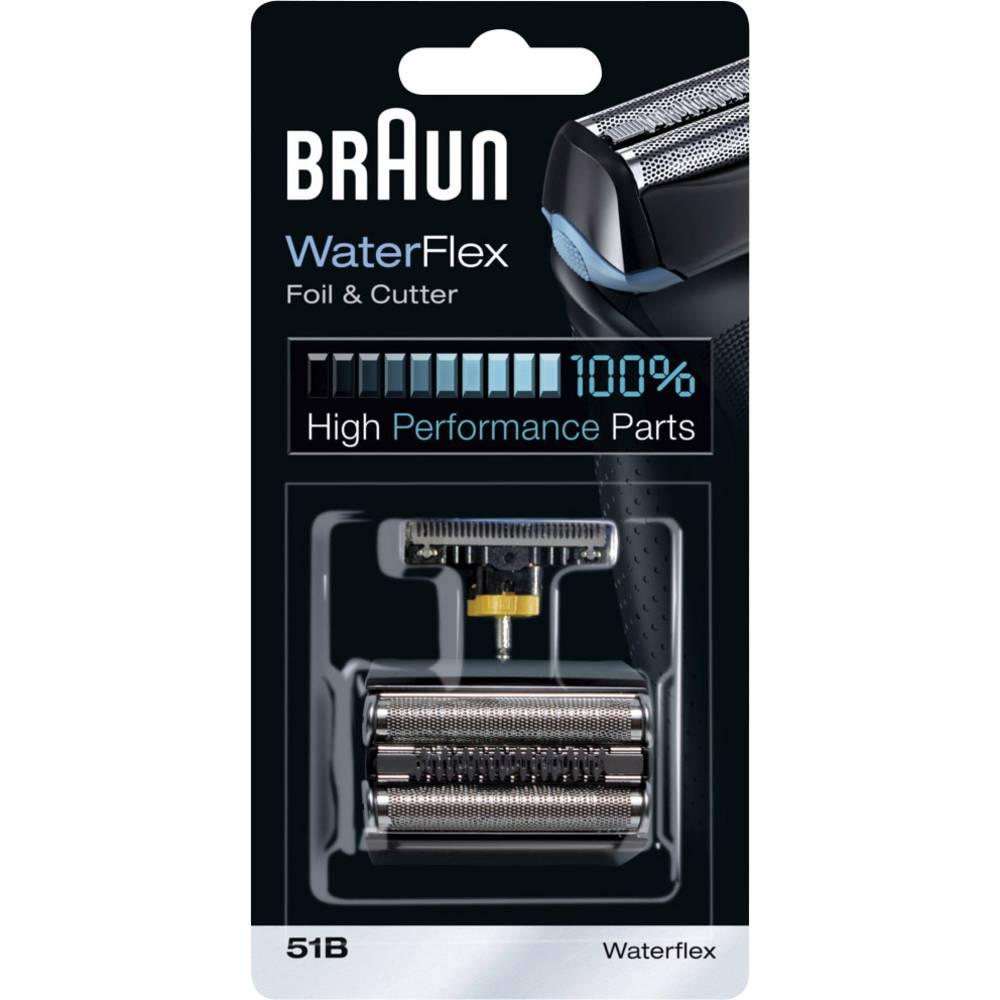 Braun 51B Kombipack 8000 holicí fólie a holicí hlava černá 1 sada
