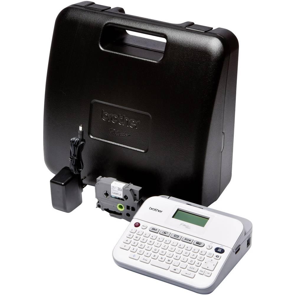 Brother P-Touch D400VP štítkovač vhodné pro pásky: TZ 3.5 mm, 6 mm, 9 mm, 12 mm, 18 mm