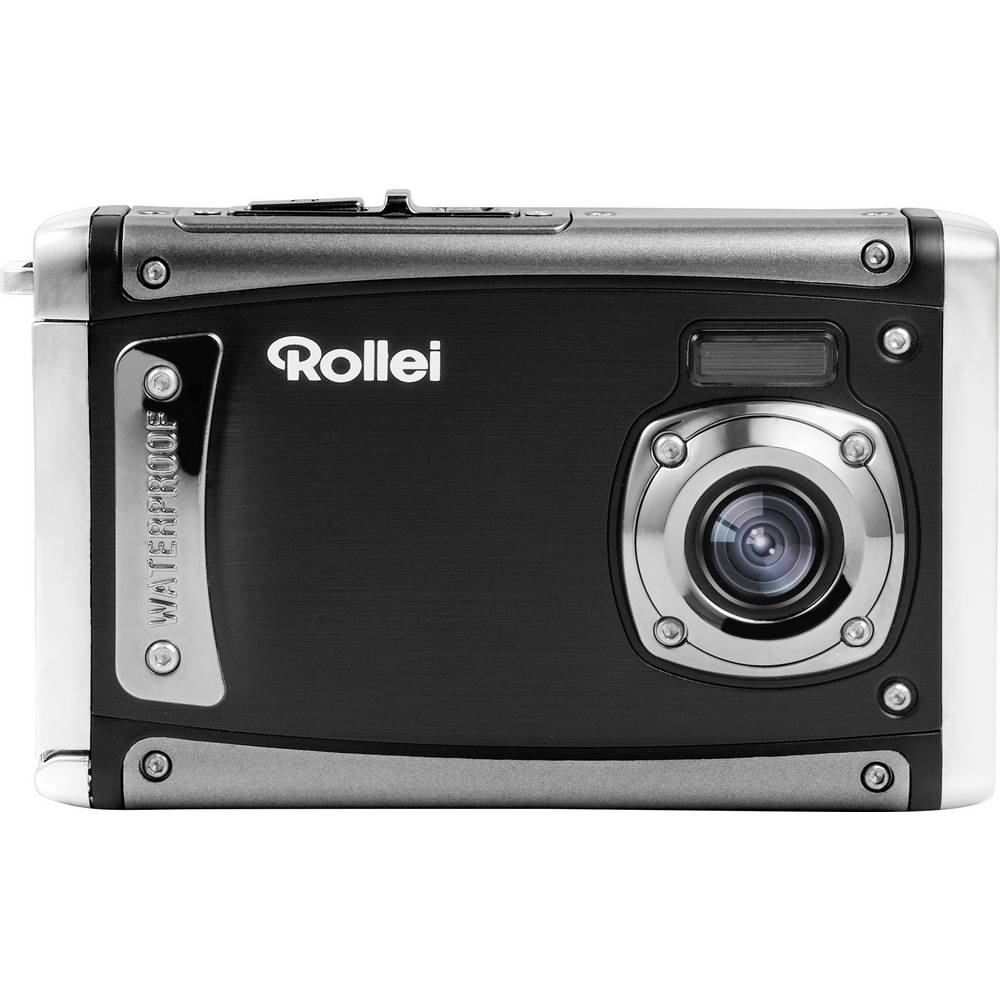 Rollei Sportsline 80 digitální fotoaparát 8 MPix černá Full HD videozáznam, odolný proti nárazu, voděodolný, prachotěsný