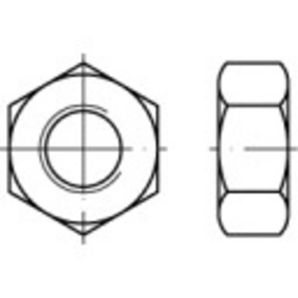 TOOLCRAFT 131788 šestihranné matice M80 DIN 934 ocel 50 ks