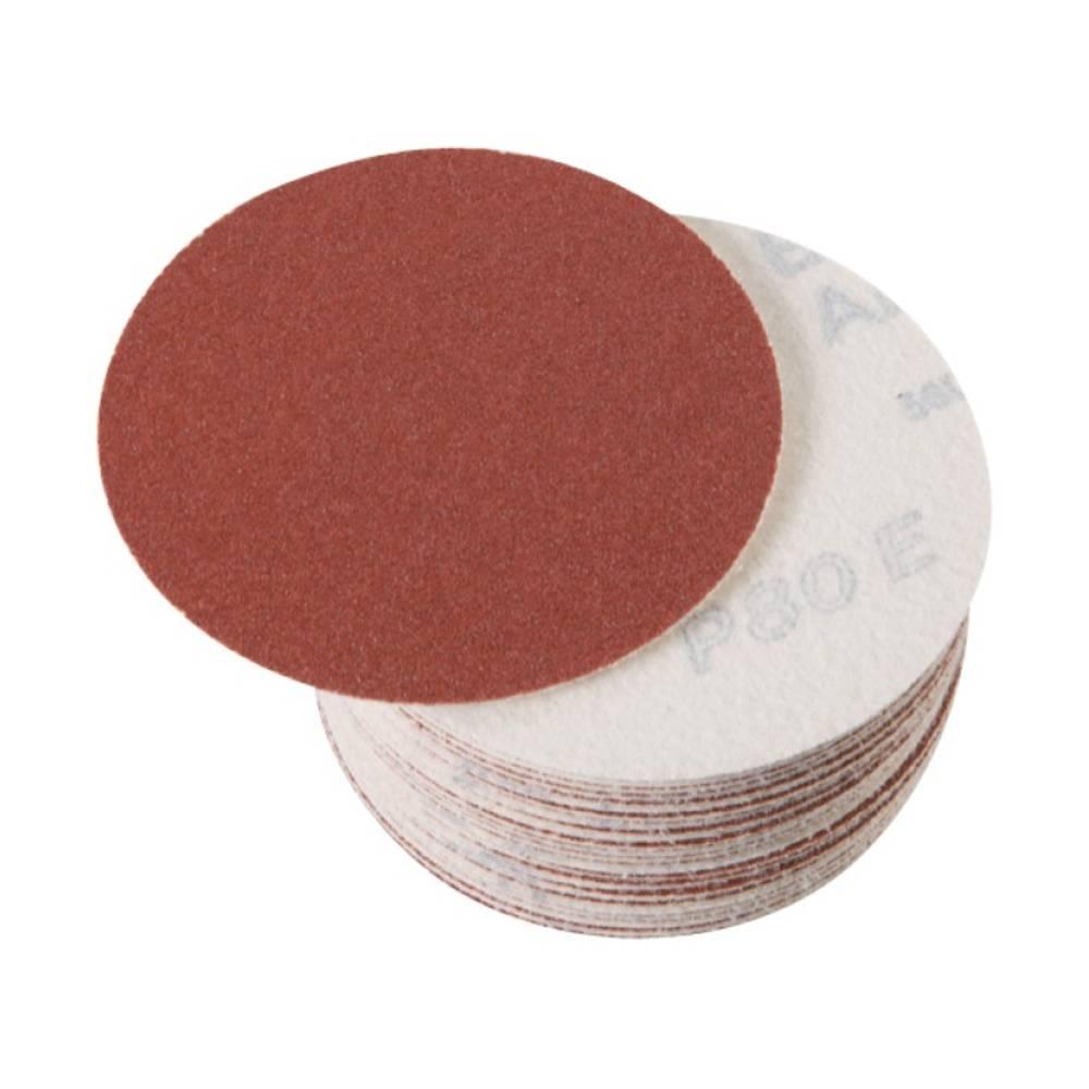 Fein 63728096019 brusné papíry pro excentrické brusky bez otvorů Zrnitost 80 (Ø) 115 mm 50 ks