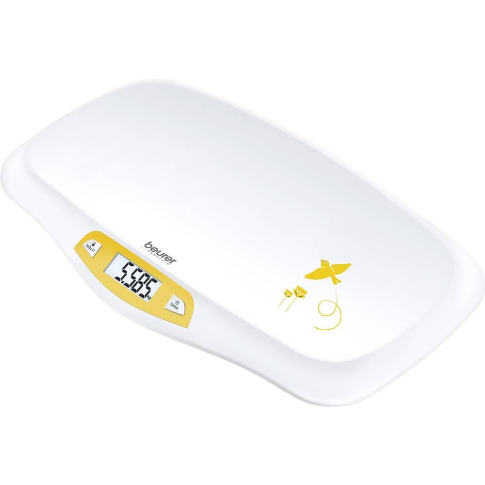 Beurer BY 80 956.05 dětská váha 20 kg bílá, žlutá