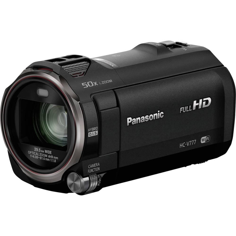 Panasonic HC-V777EG-K Kamera 7.6 cm 3 palec 12.76 Megapixel Zoom (optický): 20 x černá