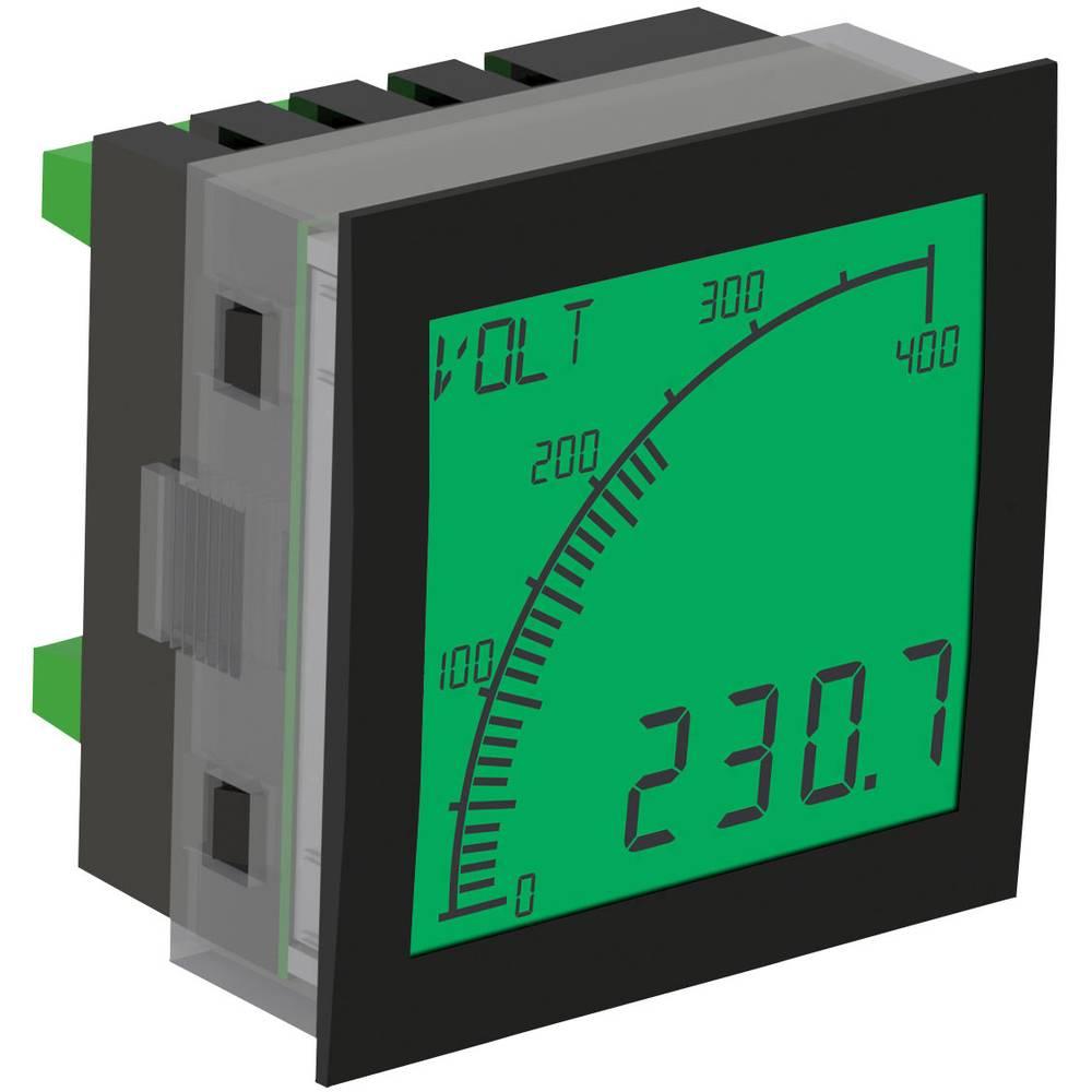 Trumeter APM-VOLT-APO digitální panelový měřič APM MĚŘIČ NAPĚTÍ, POZITIVNÍ LCD S VÝSTUPY