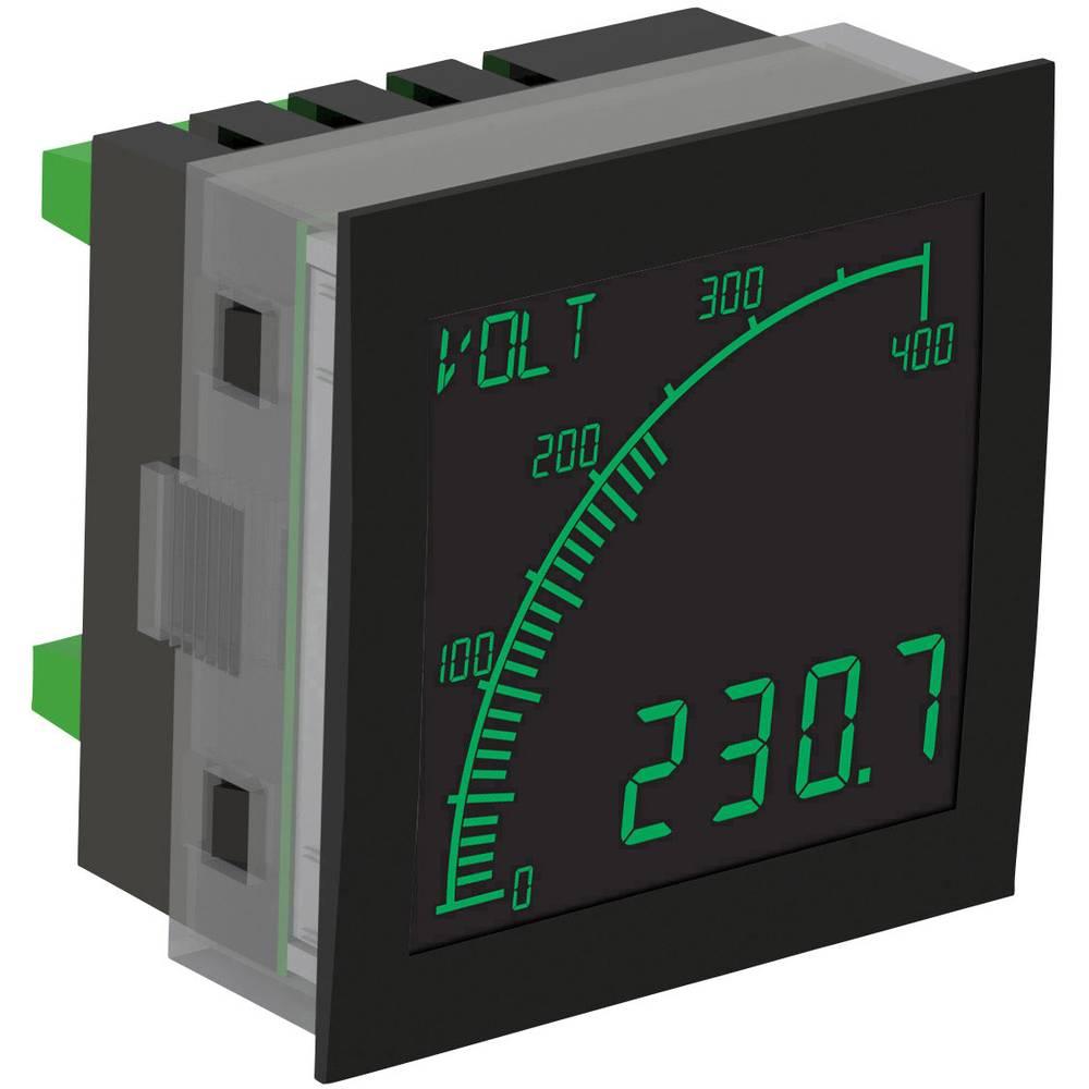 Trumeter APM-VOLT-ANN digitální panelový měřič APM MĚŘIČ NAPĚTÍ, Negativní LCD