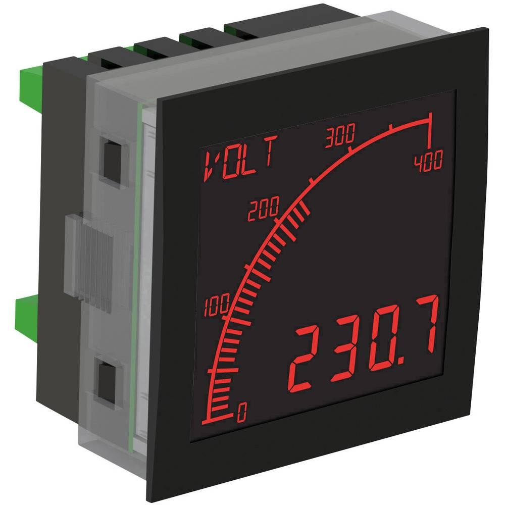 Trumeter APM-VOLT-ANO digitální panelový měřič APM MĚŘIČ NAPĚTÍ, negativní LCD displej s výstupy
