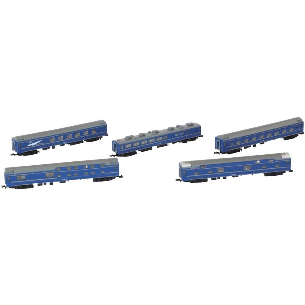 Rokuhan 7297762 Sada 5 osobních vagonů řady 24 (HOKUTOZE)