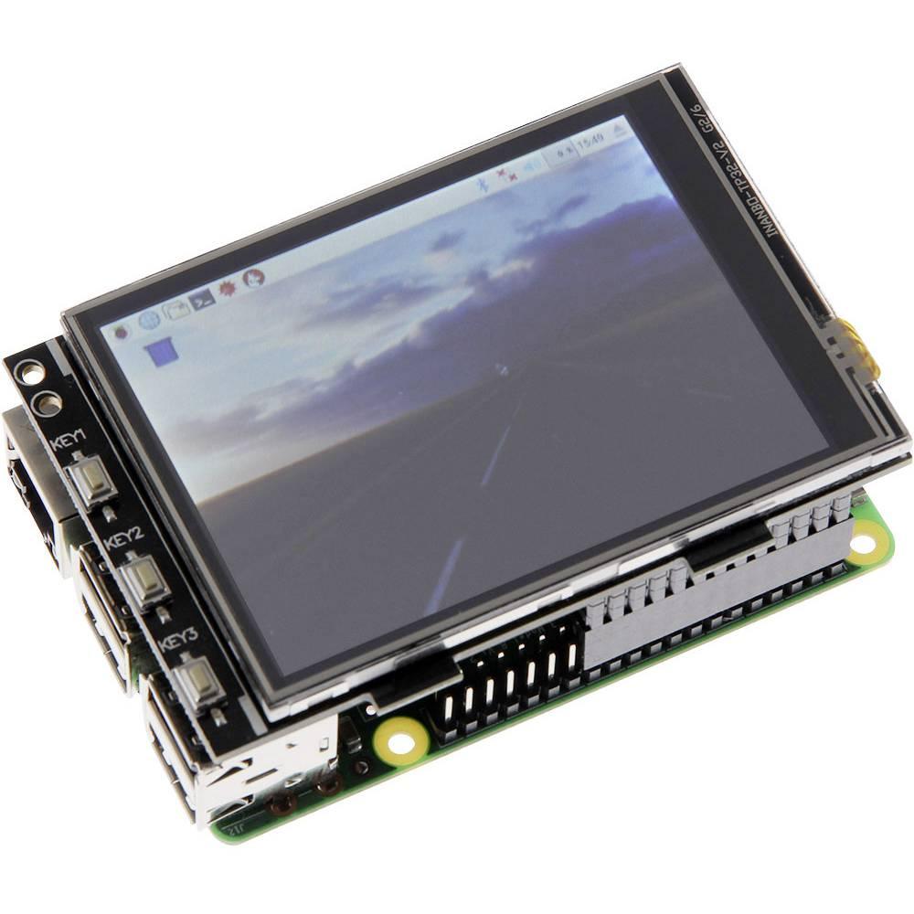 Joy-it RB-TFT3.2-V2 model dotykové obrazovky 8.1 cm (3.2 palec) 320 x 240 pix Vhodné pro: Raspberry Pi s podsvícením displeje