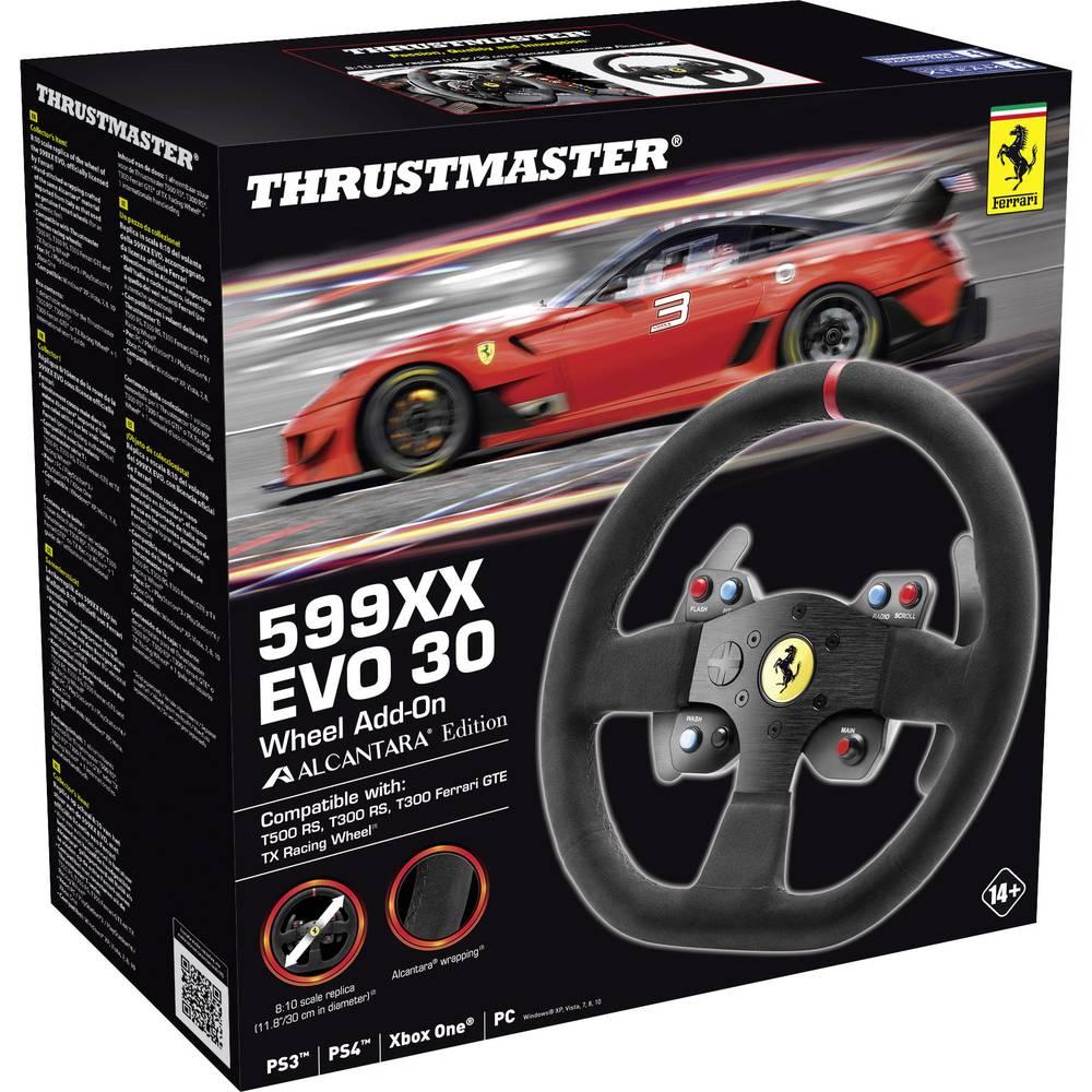 Thrustmaster 599XX EVO 30 Alcantara Edition příslušenství k volantu Xbox One, PlayStation 3, PlayStation 4, PC černá