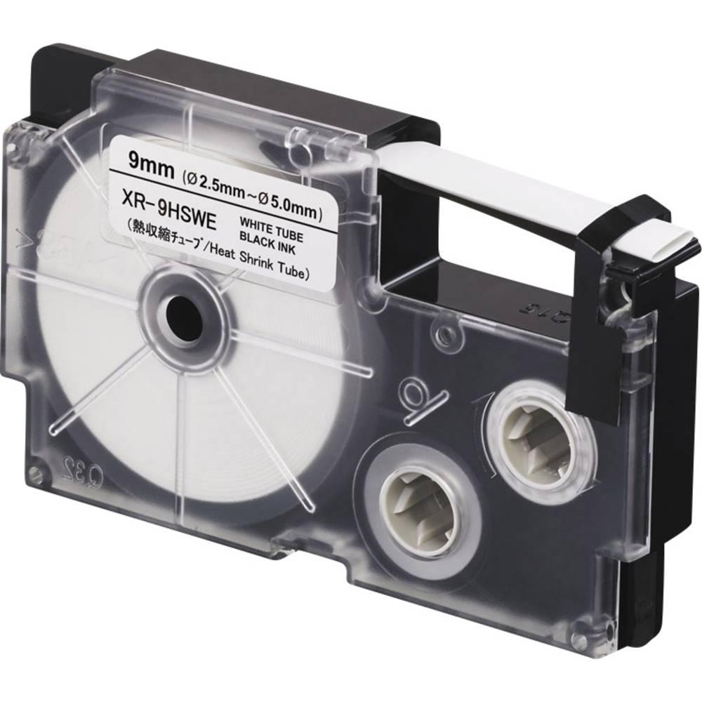 páska nelaminovaná Casio XR XR-9HSWE polyolefin Barva pásky: bílá Barva písma:černá 9 mm 2.5 m