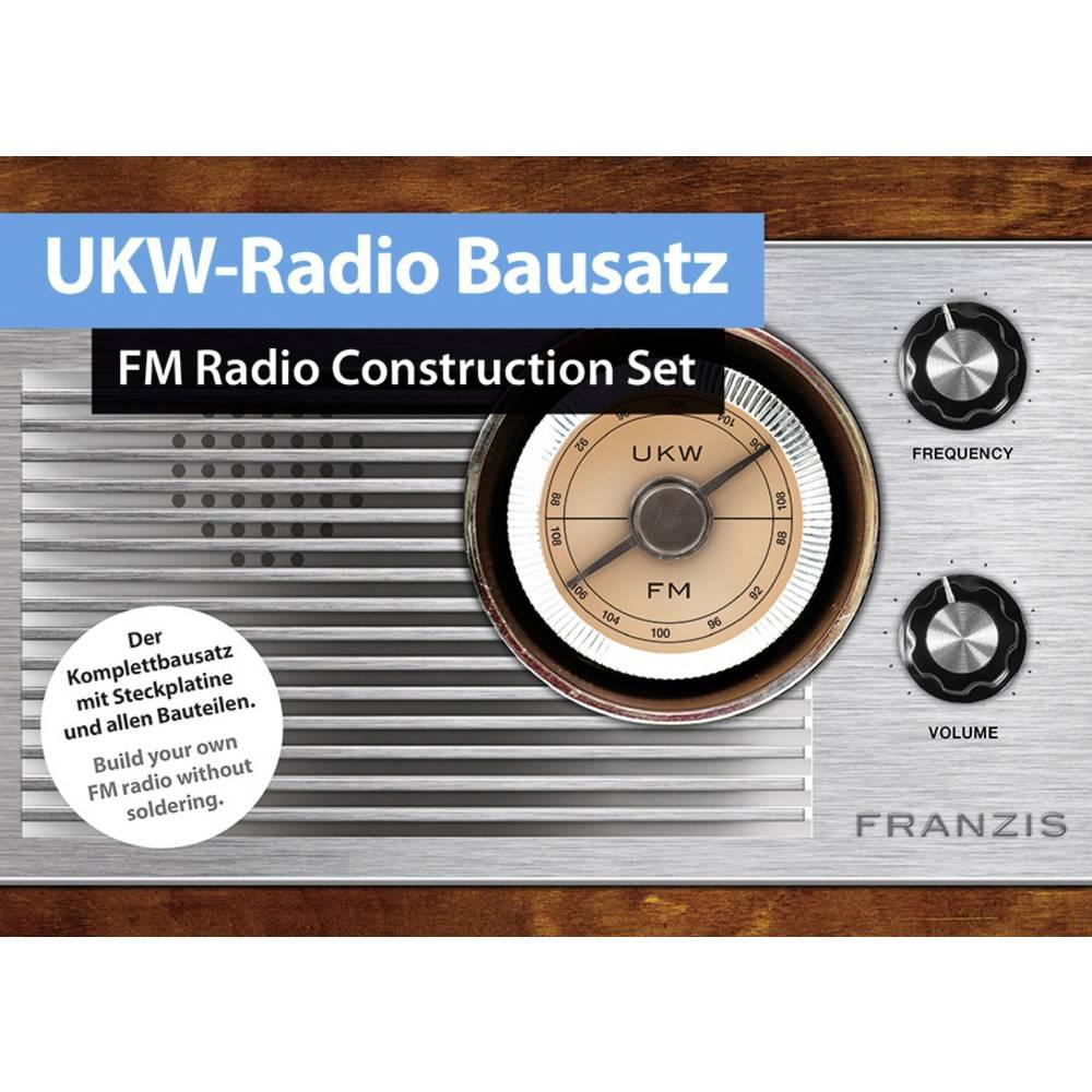 Franzis Verlag 65287 UKW-Radio retro rádio od 14 let