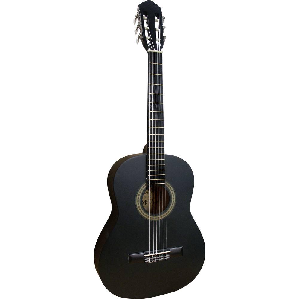 MSA Musikinstrumente MI 36 B koncertní kytara 3/4 černá