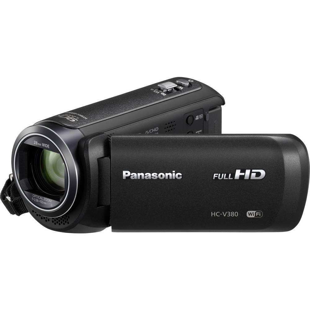 Panasonic HC-V380EG-K Kamera 7.6 cm 3 palec 2.2 Megapixel Zoom (optický): 50 x černá