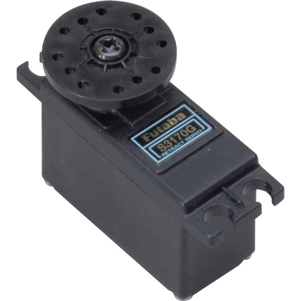 Futaba mini servo S3170G analogové servo Materiál převodovky: plast Zásuvný systém: Futaba