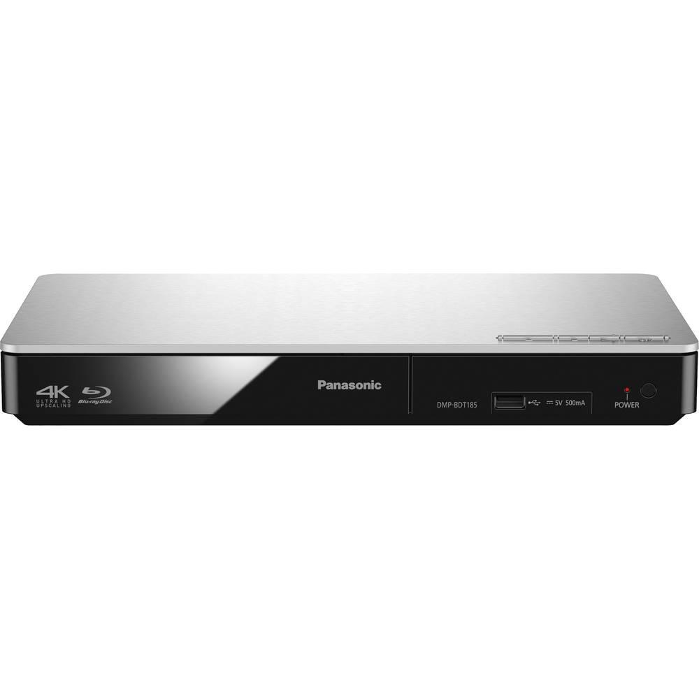 Panasonic DMP-BDT185 3D Blu-Ray přehrávač 4K Upscaling stříbrná
