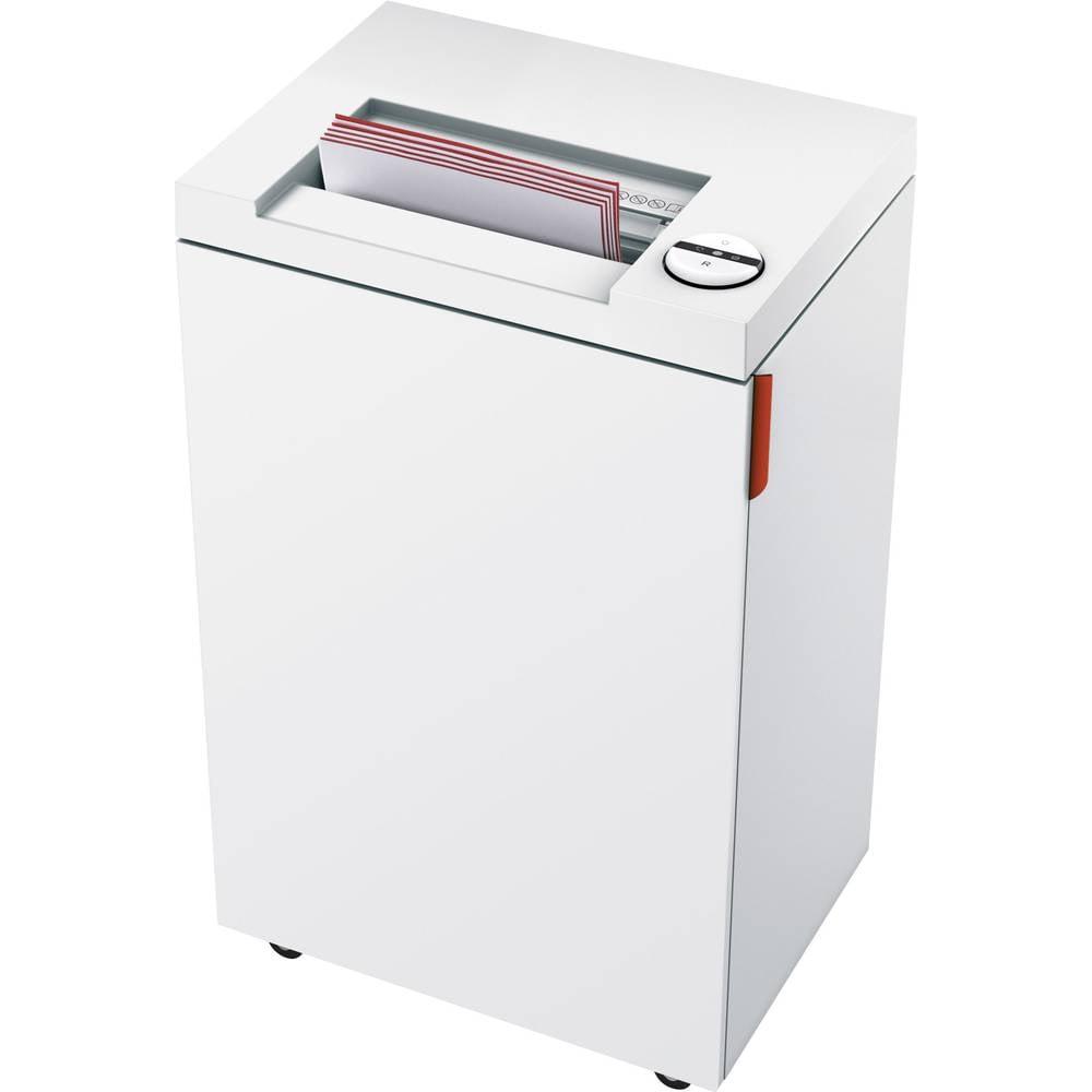 Ideal 2465 skartovačka na proužky 4 mm 35 l Počet listů (max.): 21 Stupeň zabezpečení (skartovač) 2 Křížový řez kancelářské sponky, CD, DVD, sponky do sešívačky, kreditní karty