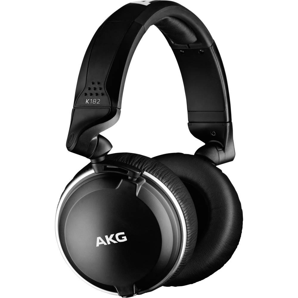 AKG Harman K182 studiové sluchátka Over Ear přes uši složitelná černá