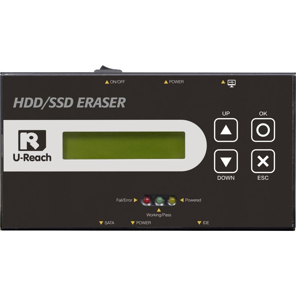 Renkforce TP100 Evidence Eraser 1násobné stanice pro mazání pevných disků SATA, IDE s funkcí mazání