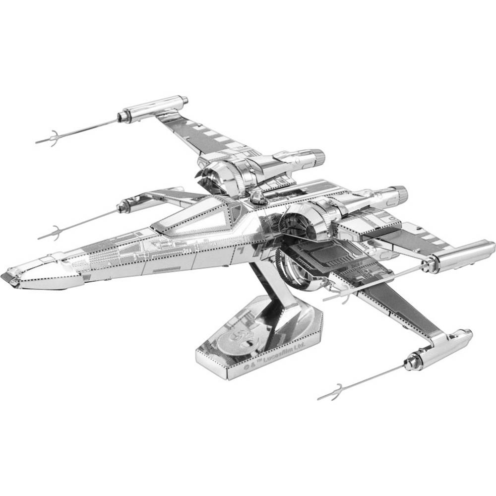 Metal Earth Star Wars Poe Dameron´s X-Wing Fighter kovová stavebnice