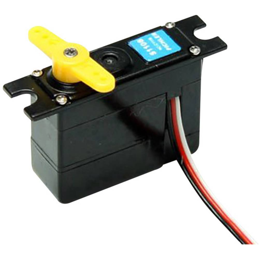 Master mini servo MASTER S1108 analogové servo Materiál převodovky: plast Zásuvný systém: JR