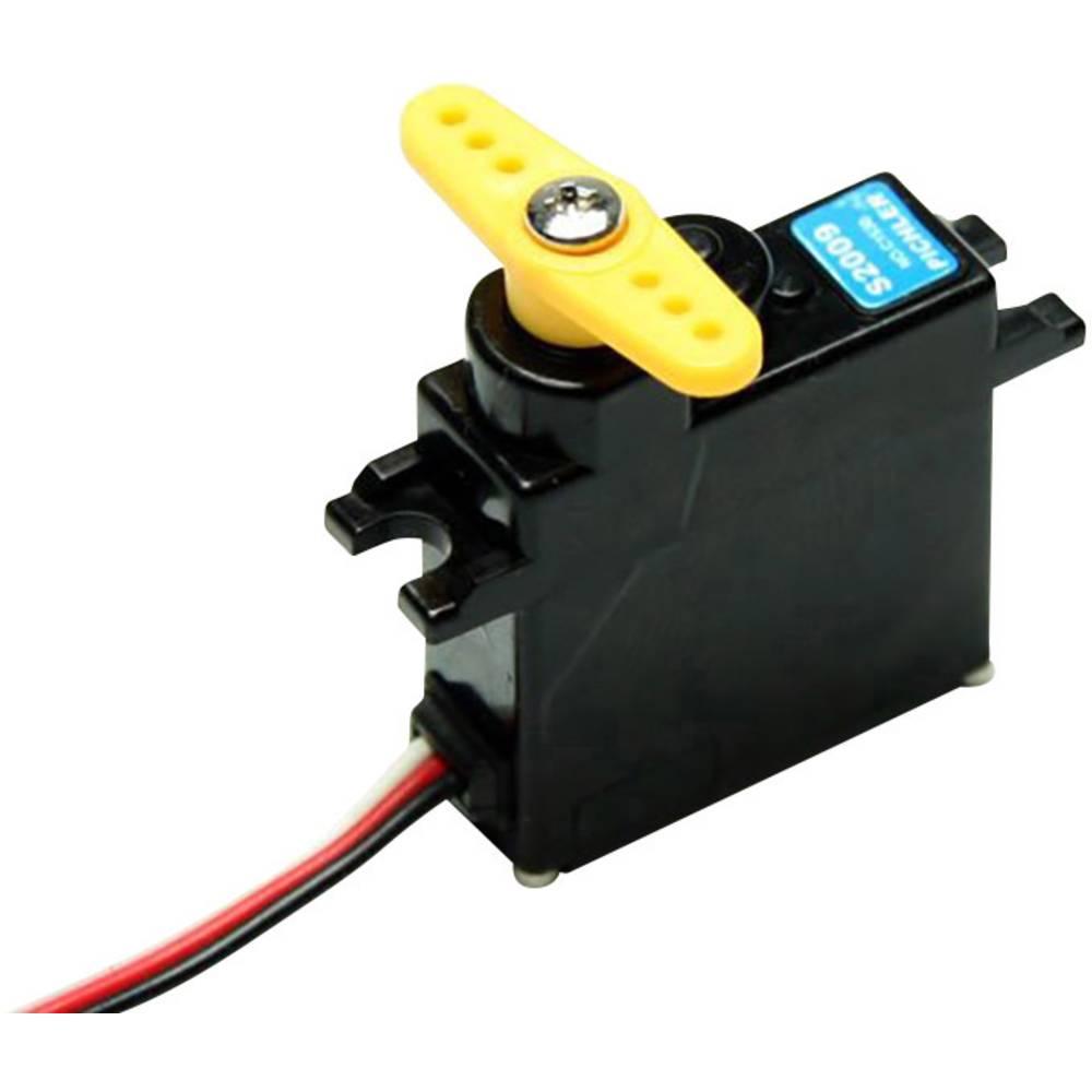 Master mini servo MASTER S2009 analogové servo Materiál převodovky: plast Zásuvný systém: JR
