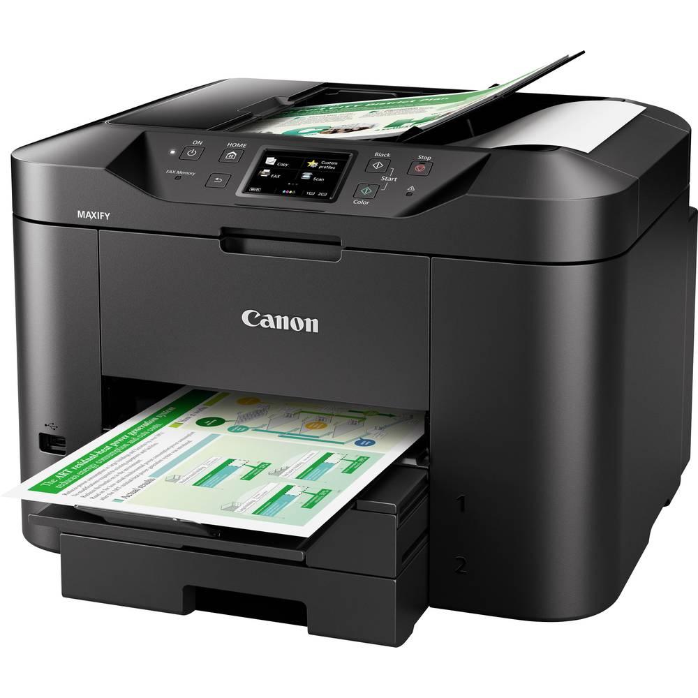 Canon MAXIFY MB2750 barevná inkoustová multifunkční tiskárna A4 tiskárna, skener, kopírka, fax LAN, Wi-Fi, duplexní, ADF