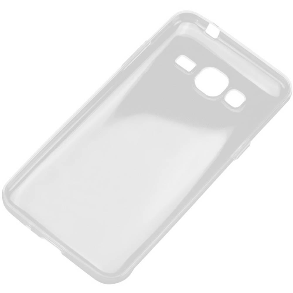 Perlecom zadní kryt na mobil Samsung Galaxy J3 (2016) transparentní