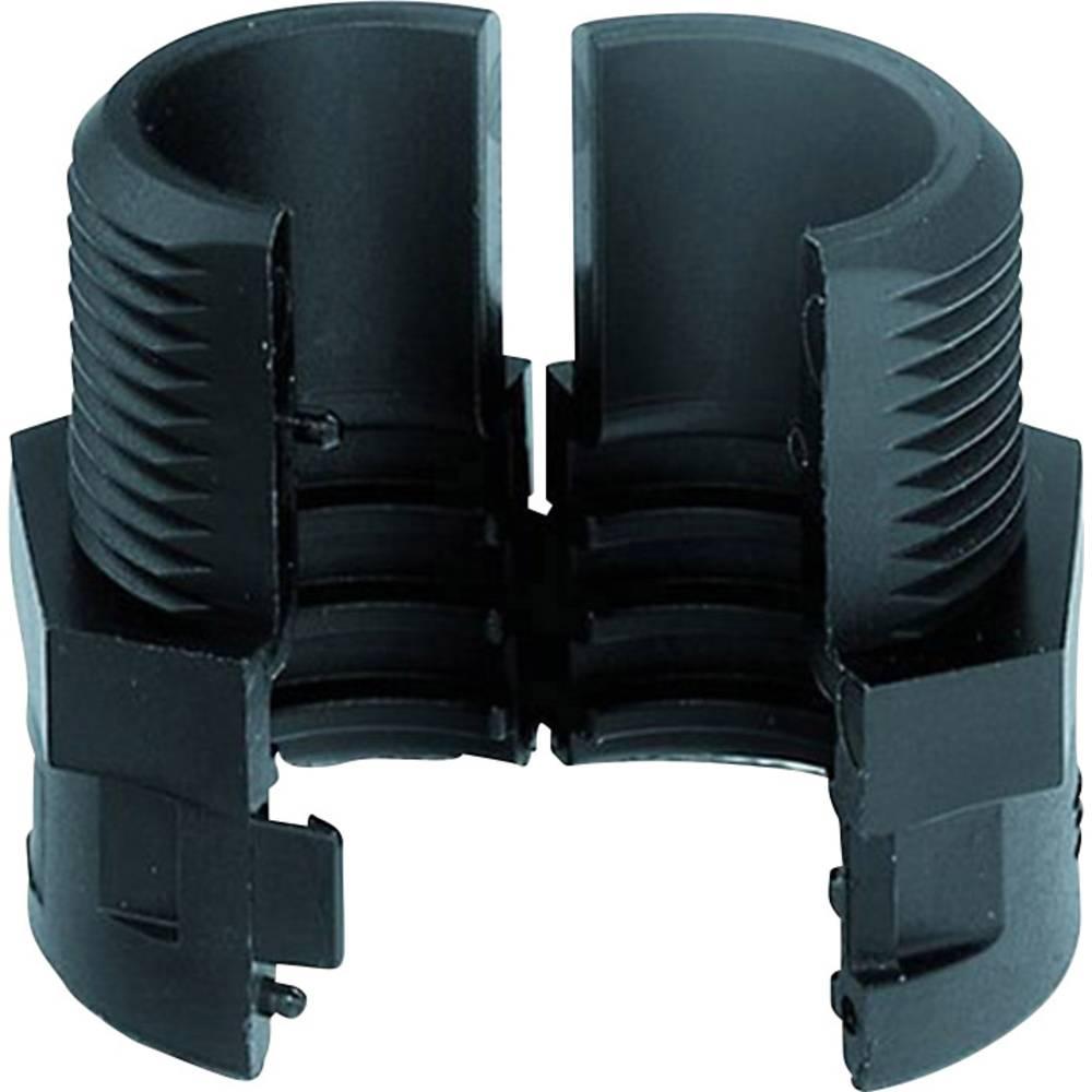 LAPP 61806780 SILVYN® SPLIT COV 20 PG 21 BK Šroubový spoj hadice split černá PG21 rovná 50 ks