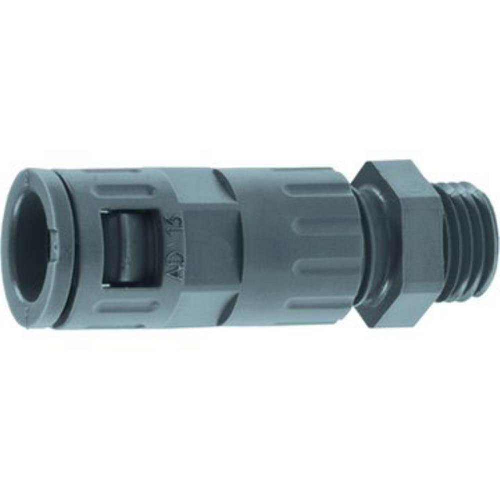 LAPP 61801145 SILVYN® KLICK GPZ PG 11 BK hadicová spojka černá PG11 rovná 20 ks