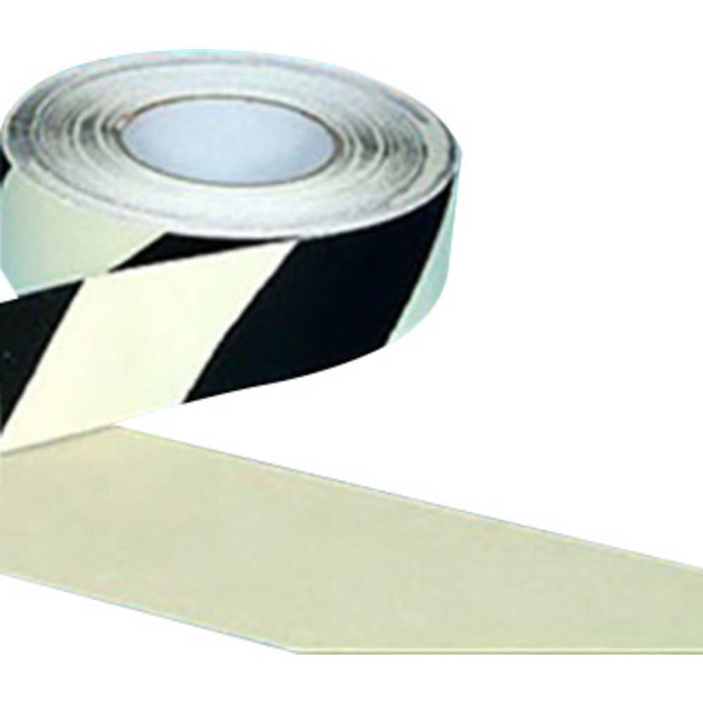 B-SAFETY AR226050 Protiskluzová podložka zářivá černá, bílá (d x š) 18.3 m x 50 mm