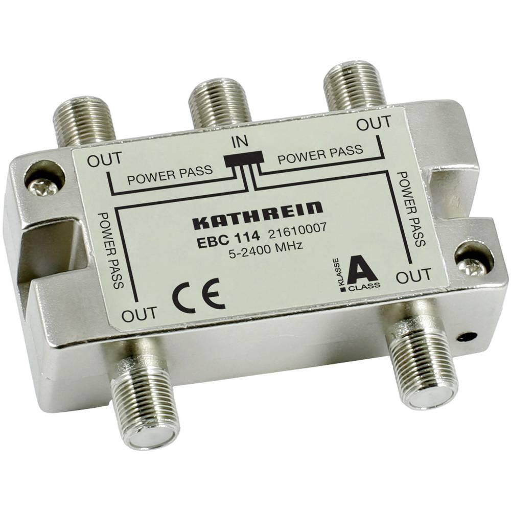 Kathrein EBC 114 satelitní rozdělovač čtyřnásobný 5 - 2400 MHz