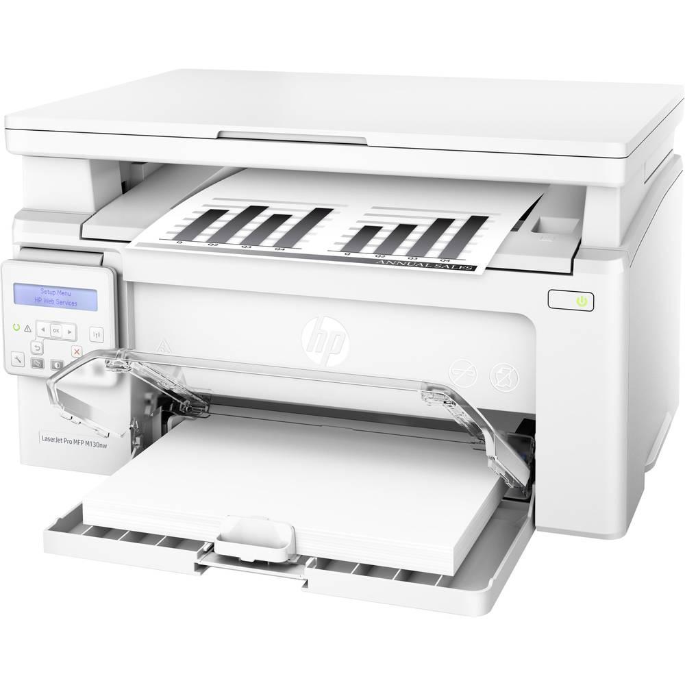 HP LaserJet Pro MFP M130nw laserová multifunkční tiskárna A4 tiskárna, skener, kopírka LAN, Wi-Fi