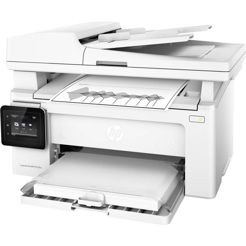 HP LaserJet Pro MFP M130fw laserová multifunkční tiskárna A4 tiskárna, skener, kopírka, fax LAN, Wi-Fi, ADF