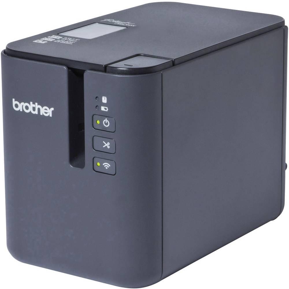 Brother P-touch P950NW štítkovač vhodné pro pásky: TZ, Hse, HGe, STe, FLe 3.5 mm, 6 mm, 9 mm, 12 mm, 18 mm, 24 mm, 36 mm