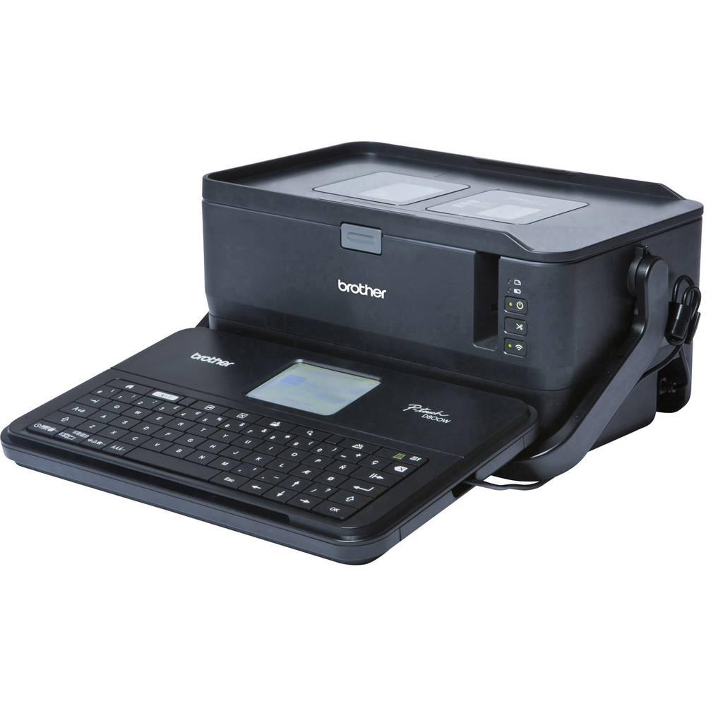 Brother P-Touch D800W štítkovač vhodné pro pásky: TZ, Hse, HGe, FLe 3.5 mm, 6 mm, 9 mm, 12 mm, 18 mm, 24 mm, 36 mm