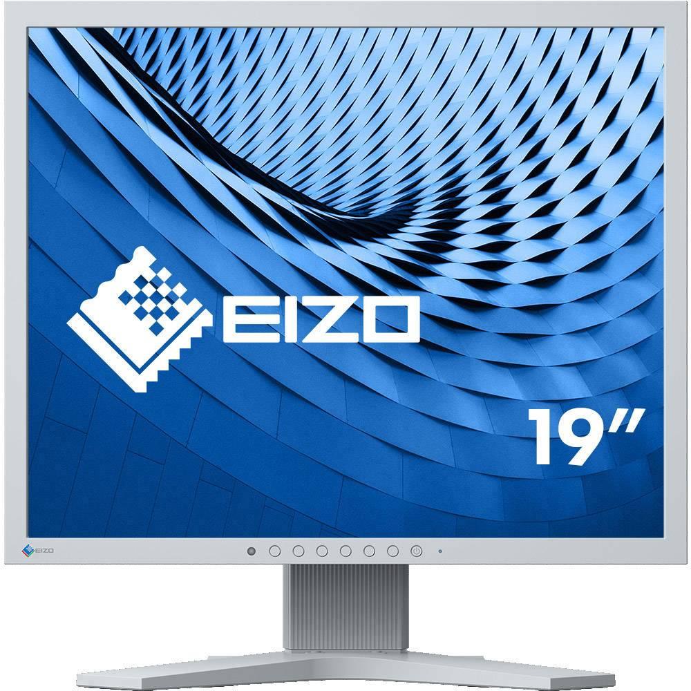 EIZO S1934 LCD monitor 48.3 cm (19 palec) 1280 x 1024 pix 14 ms DisplayPort, DVI, VGA, na sluchátka (jack 3,5 mm), audio, stereo (jack 3,5 mm) IPS LCD