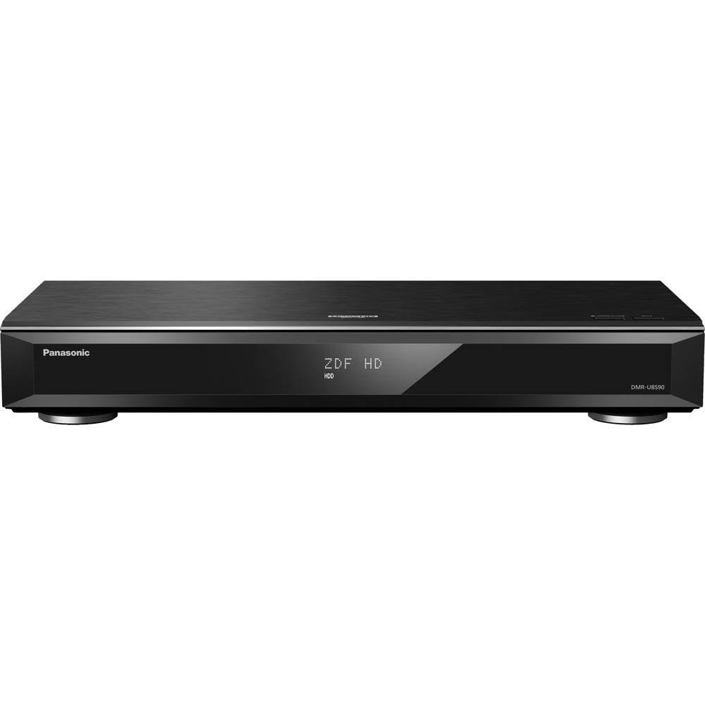 Panasonic DMR-UBS90EGK UHD Blu-Ray rekordér 4K Ultra HD , Triple-HD DVB-S tuner, High-Resolution Audio, Wi-Fi černá