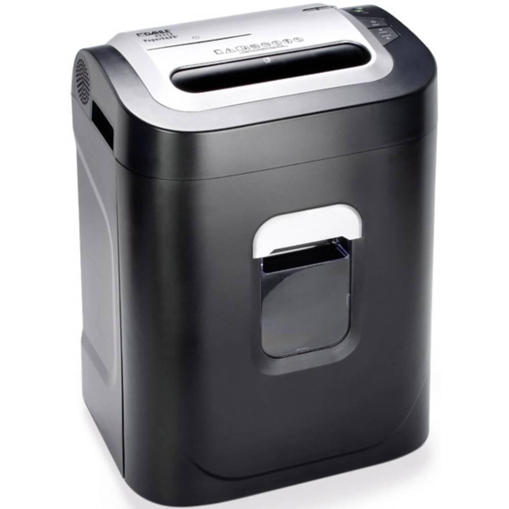 Dahle 22312 PaperSAFE® skartovačka na kousky 4.3 x 37 mm 26 l Počet listů (max.): 14 Stupeň zabezpečení (skartovač) 4 Křížový řez CD, DVD, kreditní karty, kancelářské sponky, sponky do sešívačky
